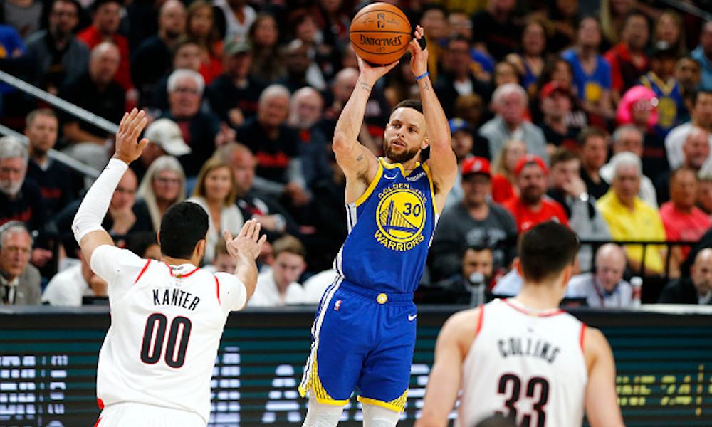 Los Warriors vencieron a Portland