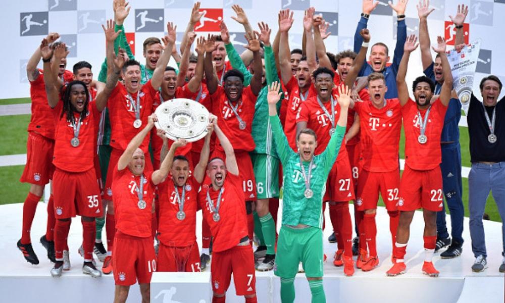 el Bayern Múnich conquistó su séptima Bundesliga consecutiva