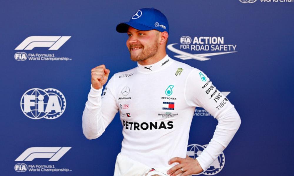 tercera pole position consecutiva para Valtteri Bottas