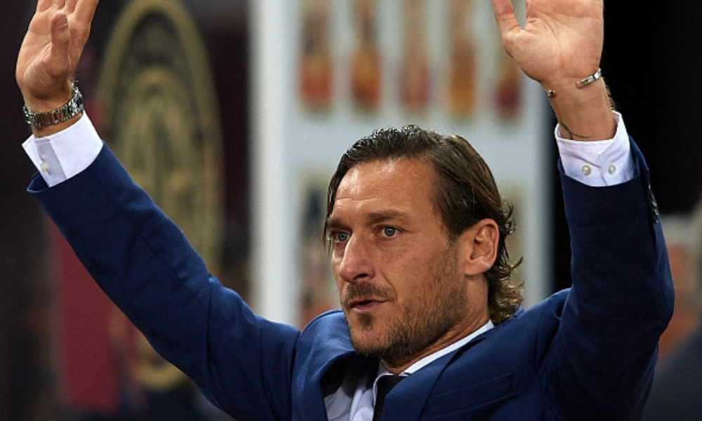 Totti dejó a la Roma