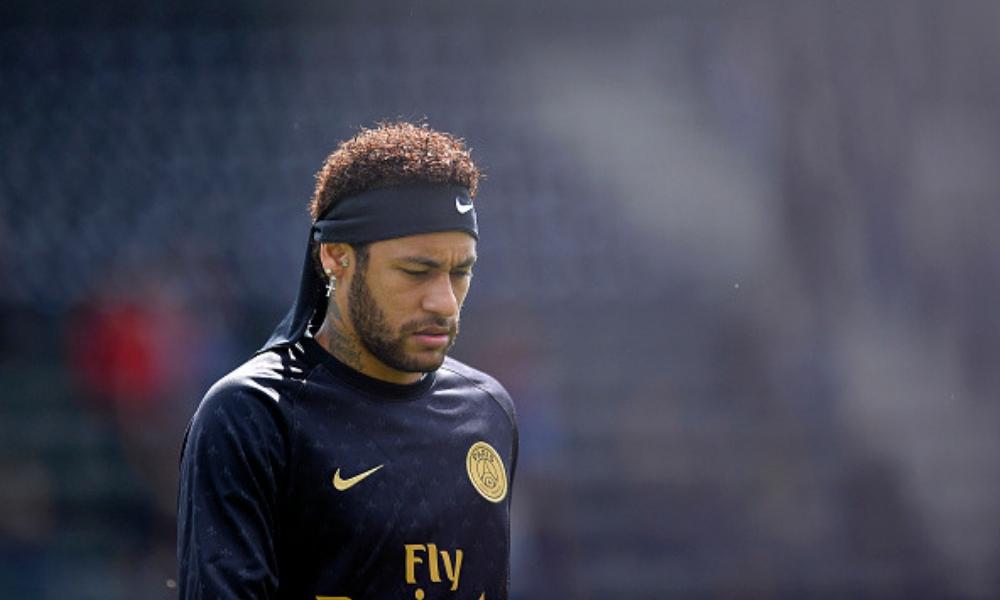 Neymar volvió a los entrenamientos con el PSG