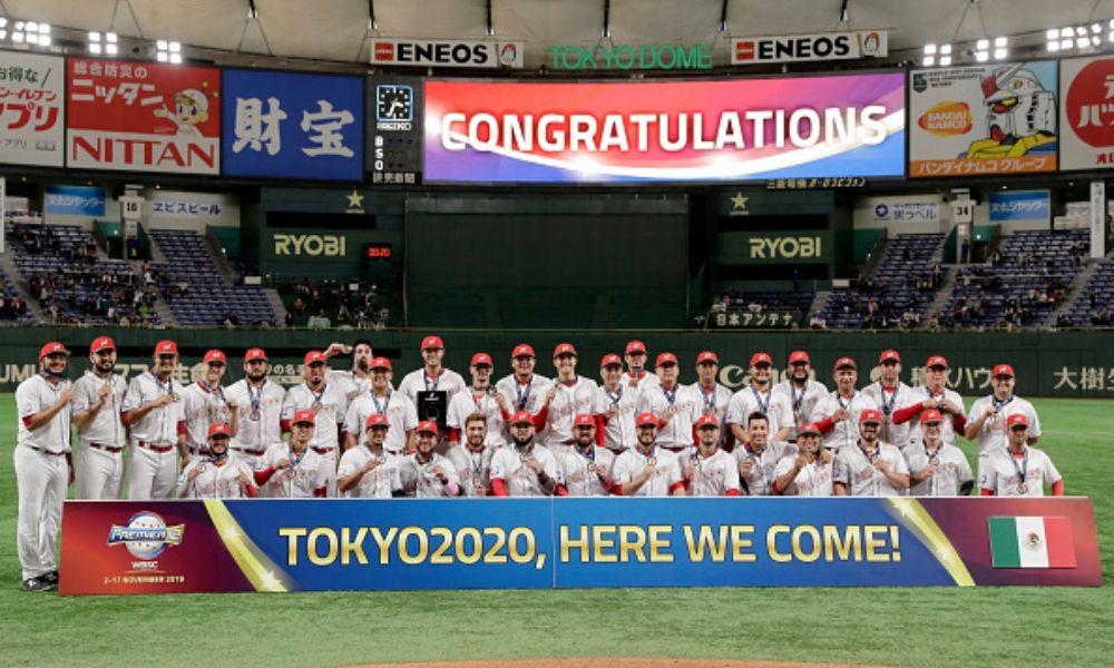 La Selección Mexicana de Béisbol clasificó a Tokio 2020
