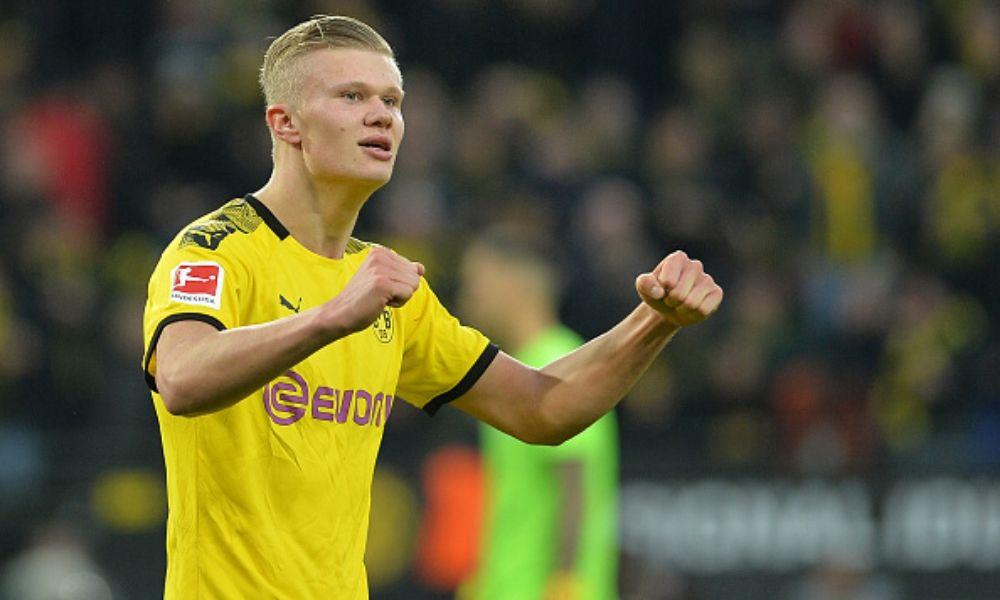 Erling Haaland, una máquina de goles con el Borussia Dortmund