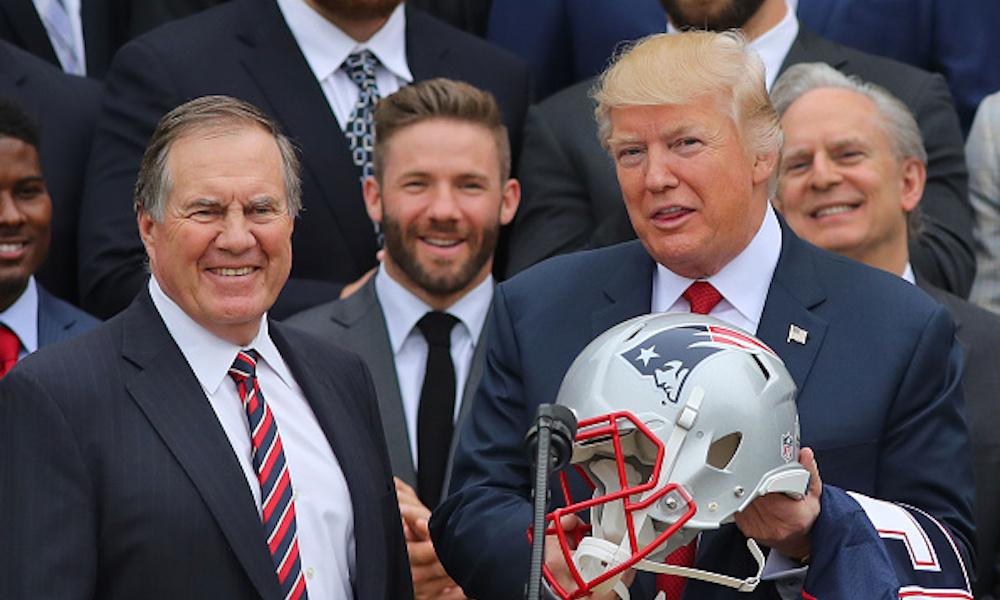 Donald Trump cree que la temporada de la NFL puede iniciar a tiempo