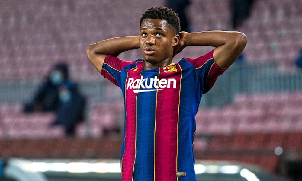 Barcelona perderá a Ansu Fati; tendrá que someterse a cirugía