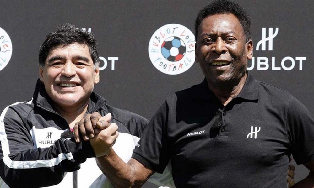 El emotivo mensaje de Pelé tras el fallecimiento de Maradona