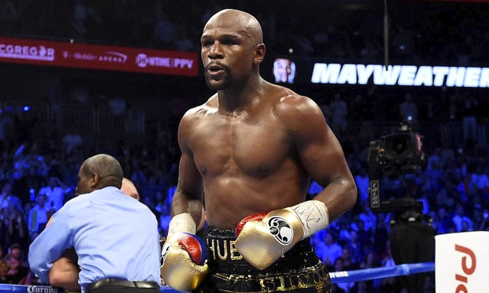 Floyd Mayweather confirmó su regreso a los rings de boxeo