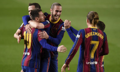 Barcelona venció al Athletic en LaLiga