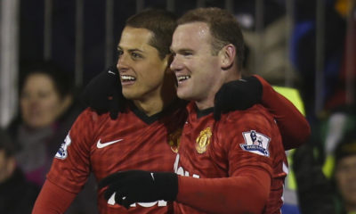 Chicharito envió mensaje a Rooney