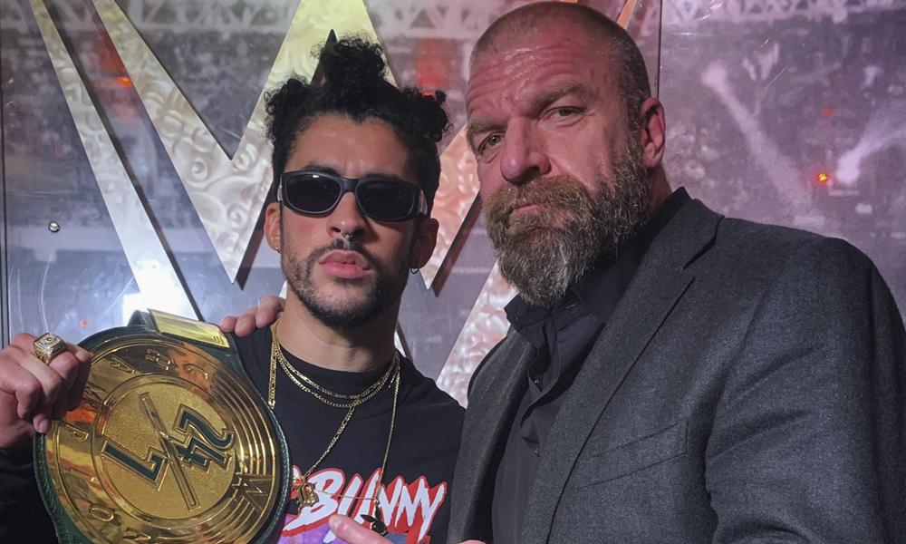 Bad Bunny en la WWE