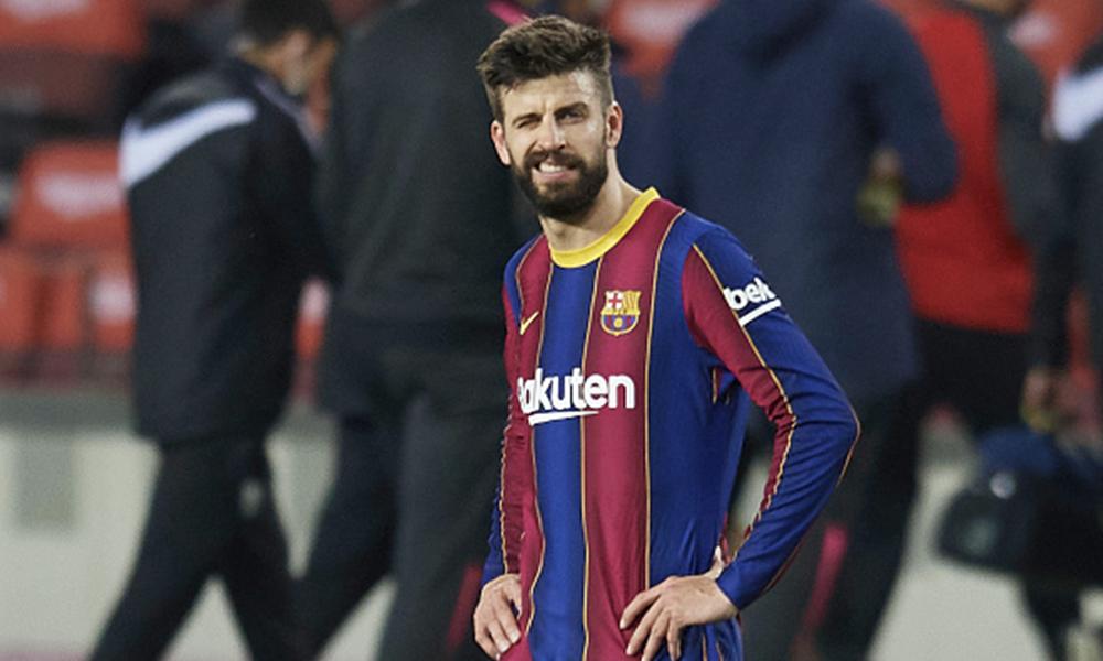 Gerard Piqué baja Barcelona