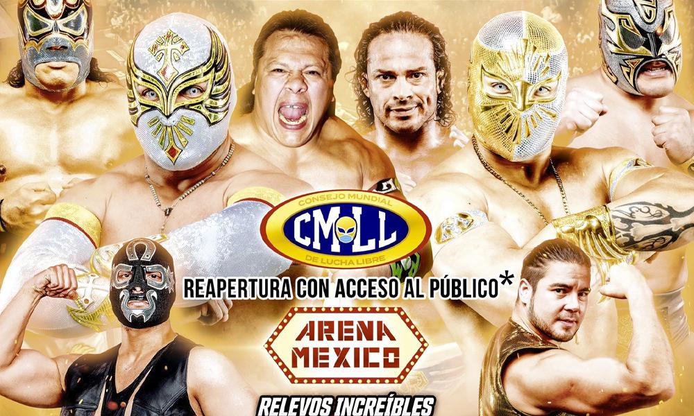 Afición volverá a la Arena México