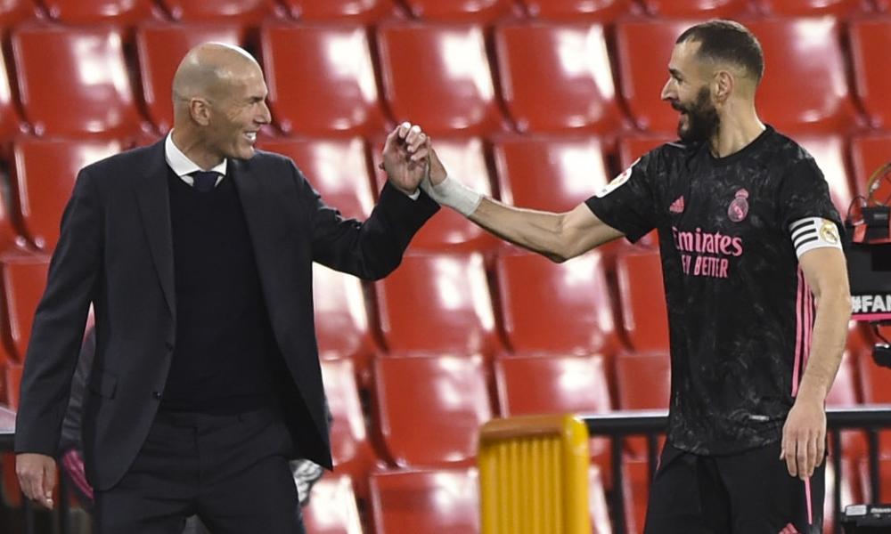 Granada 1-4 Real Madrid